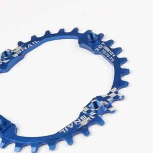 SNAIL 30T XC AM MTB Bike Round Narrow Wide Single Chainring Chain Ring BCD 104mm