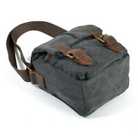 new Vintage Canvas DSLR SLR Camera Bag Travel Shoulder Messenger for Canon Nikon