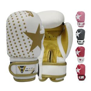 TMA Kids Junior Boxing gloves best for kickboxing,Martial Arts,MMA,Muay Thai 2oz