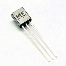 20PCS S8550 0.5A/40V PNP TO-92 DIP transistor​s NEW