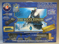 LIONEL 10TH ANNIVERSARY POLAR EXPRESS SET O GAUGE steam train set 6-81101 NEW