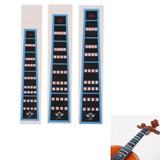 Violin Fingerboard Sticker Fretboard Note Label Finge.Chart Practice#Accesso RAS