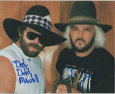 Dirty Dutch Mantell & Bobby Jack Signed 8x10 Photo WWE WCW