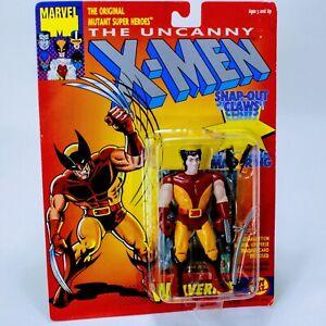 "X-Men Marvel Comics Wolverine w/ Snap Claws - Vintage Toybiz 4.75"" Action Figure"