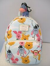 Loungefly Disney Winnie the Pooh Balloon Friends Mini Backpack Bonus