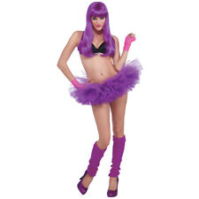 Neon Purple Tutu Adult Teen Size Spirit Week Rave Party Cosplay Anime