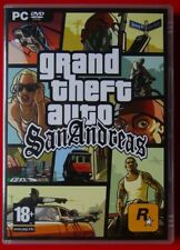 GTA  GRAND THEFT AUTO SAN ANDREAS PC FR comme neuf Complet Carte MAP