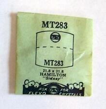 Vintage NOS G-S Crystal MT283 for HAMILTON Sidney* 21.8 x 21.8 mm