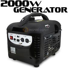2000W Portable Watt EPA Emergency Generator Gas 4 Stroke Gasoline Camping RV HD