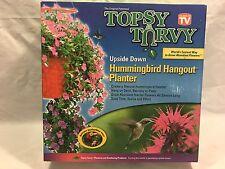 Topsy Turvy tomato Hummingbird Upsidedown Planter pot as Seen on TV NEW FREESHIP