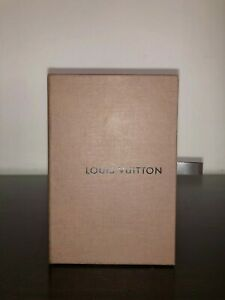 "Vintage LOUIS VUITTON Empty DRAWER GIFT BOX 5 1/2"" x 3 3/4"" x 1 1/2"" w/ Ribbon"