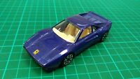 Burago 1:43 Ferrari GTO 1990 Metallic Blue Italian Sports Car Collectable Toy
