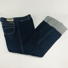 Bill Blass Signature Jeans Womens Size 16 Cuffed Vintage Style V8BEH