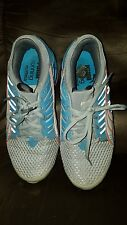 Women's Puma running shoes sneakers size 6.5 EUC aqua orange gray