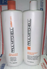 Paul Mitchell Color Protect Shampoo & Conditioner Liter/33.8 oz Duo Set