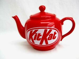 KitKat  teapot  Family sized, holds 1 litre  9 inches from back to front