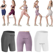 Women's Fitness Bike Shorts Soft Stretch Leggings Spandex Workout Yoga Shorts