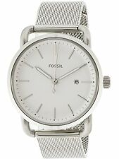 Fossil Women's The Commuter ES4331 Silver Stainless-Steel Quartz Fashion Watch