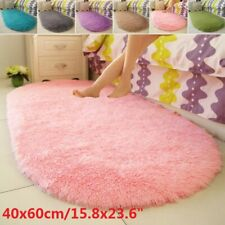 Fluffy Rugs Anti-Skid Shaggy Area Rug Carpet Dining Room Floor Mat Home Bedroom