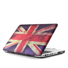 "Rubberized Matte Hard Case Cover For Macbook Air 11"" A1370 A1465 UK Flag"