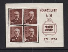 Japan Mint Souvenir Sheet Sc#510a MLH