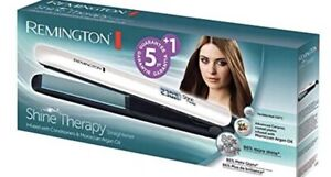 remington shine therapy straightener Brand New Moroccan Oil Infused