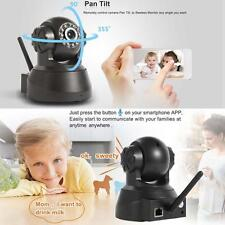 720P HD Wireless Outdoor IP Camera 1.0 Megapixel ONVIF WiFi CCTV Web Black US T&