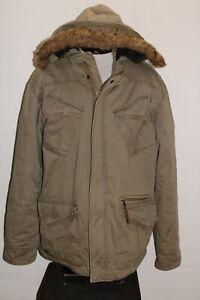 Billabong Mens XL X-Large zip-off Faux-Fur hooded Jacket Combine ship Discount