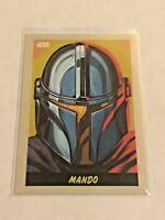 2020 Topps Star Wars The Mandalorian eBay Exclusive Card #7 - Mando