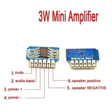 DC 3V 3.2V 3.7V 5V Class AB Mono 3W Mini Amplifier Board Audio Amp Verstärker