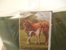 New listing Quarter Horse & Colt, Pasture, Field, Farm, Spring, Summer, Every day House flag