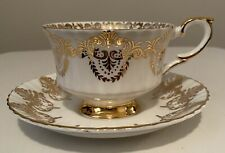 Paragon Bone China Teacup and Saucer By Appointment to her Majesty the Queen.