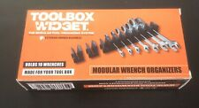 Toolbox Widget Modular Wrench Organizer Holds 10 Wrenches