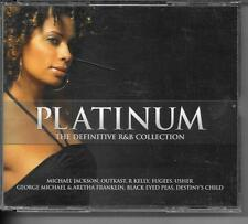 COFFRET 2 CD COMPIL 40 TITRES--PLATINIUM R&B COLLECTION--JACKSON/USHER/R.KELLY..