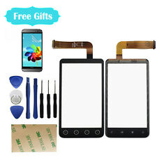 Touch Screen Digitizer Glass Lens  For HTC EVO 3D G17 Replacement Parts Black