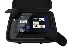 "Black EVA Case/Cover For Coby Kyros 10.1"" Android 4.0 8 GB Tablet w/ Inner Strap"