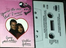 CRAIG MCLACHLAN DEBBIE GIBSON YOURE THE ONE THAT I WANT CASSETTE SINGLE GREASE