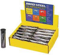 Abro Steel Quicksteel Metal Repair Epoxy Putty Weld 57g Dries Hard in 15 Mins