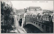 Japan KYOTO Shijyo Bridge early vintage PPC 1920s?