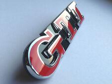 Polo 6R Golf 5 6 7 VI GTI GTD Rot Emblem Schriftzug Kühlergrill Wabengrill