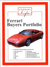 Ferarri Buyers Portfolio F355 360 Modena 365 Testarossa
