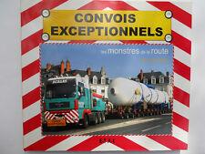 LIVRE CONVOIS EXCEPTIONNELS NEUF SOUS BLISTER 160 PAGES FORMAT 28 X24,5 cm
