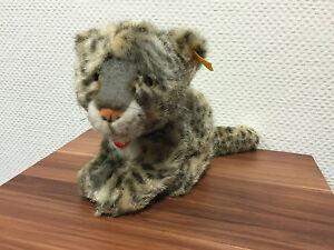 Steiff 065750 Baby Snow Leopard Snobby 9 13/16in Very Rarely