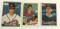 Steve Avery Baseball Cards 3 Card Lot Rookie Atlanta Braves