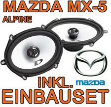 Mazda MX5 NB - Alpine LAUTSPRECHER BOXEN SET EINBAUZUBEHÖR TÜR 2-WEGE SYSTEM