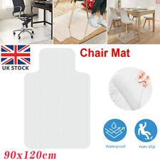 More details for desk mat floor computer carpet hard wood protector for office chair pvc plastic