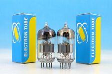 ULTRA 6N23P 6Н23П Hi-Fi SILVER SHIELD Single Wire MATCHED PAIR Tubes ~6DJ8 E88CC