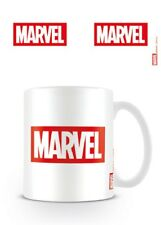 MARVEL COMICS LOGO WHITE MUG NEW GIFT BOXED 100% OFFICIAL MERCH