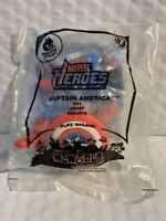 2010 McDonald's Happy Meal Toy - Marvel Heroes CAPTAIN AMERICA #7