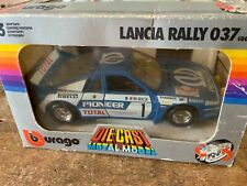 BBURAGO 195 LANCIA RALLY 037 PIONEER RALLY Pioneer Rare Colour Boxed